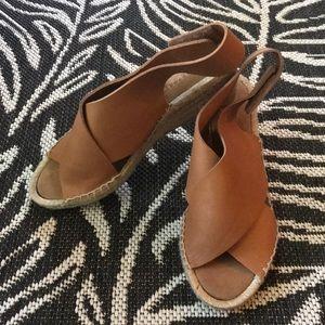Maypol ladies open toe wedges